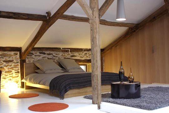 Une chambre blottie sous les toits : les internautes transforment leur grenier - CôtéMaison.fr