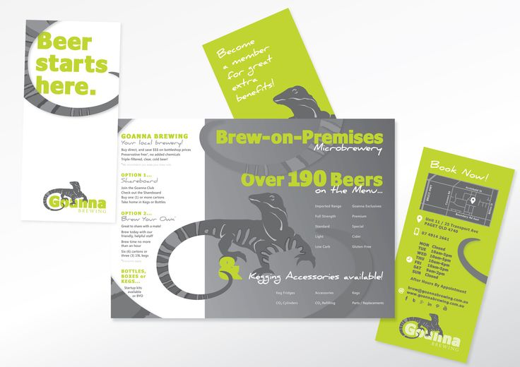 Revision of hours and operating info - new brochure available now. www.goannabrewing.com.au