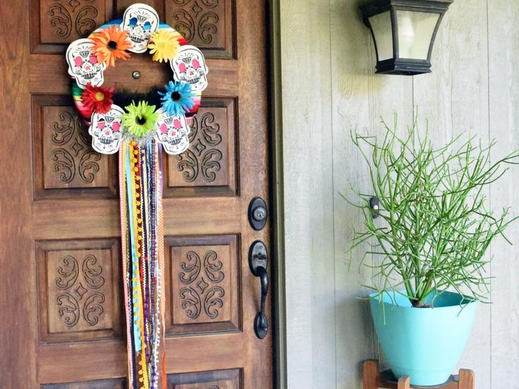 335 best diy halloween images on pinterest diy network for Day of the dead craft supplies