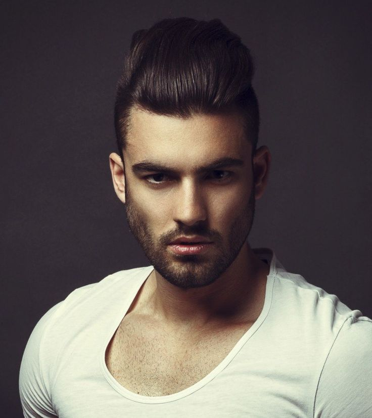 new mens hairstyles short sides long top