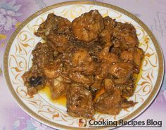 This is Fjij-Styled masala curry chicken. A fair portion of Fijian-food comes from South Asia due to immigration of South-Asian workers in the late 1800's.