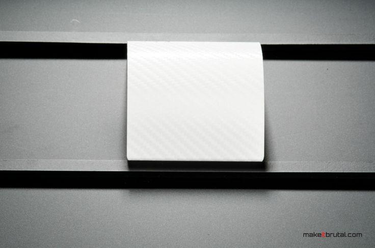 Carbon Fibre White