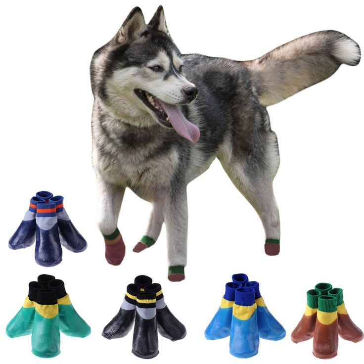 Non-slip Rubber Puppy Shoes Pet Boots Socks Medium Dog Waterproof Rain Shoes // FREE Shipping //     Get it here ---> https://thepetscastle.com/non-slip-rubber-puppy-shoes-pet-boots-socks-medium-dog-waterproof-rain-shoes/    #hound #sleeping #puppies