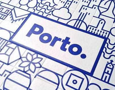 Şu @Behance projesine göz atın: \u201cNew identity for the city of Porto\u201d https://www.behance.net/gallery/20315389/New-identity-for-the-city-of-Porto