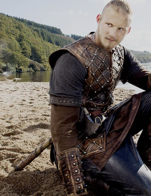 Björn Ironside, the bold son of Ragnar Lothbrok portrayed by Alexander Ludwig. ...............................