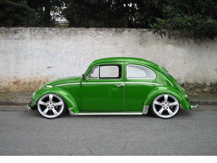SLUG BUG GREEN!!!!