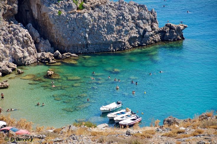 St. Paul's Bay - Rhodes Greece  One of my fav's, great snorkelling.