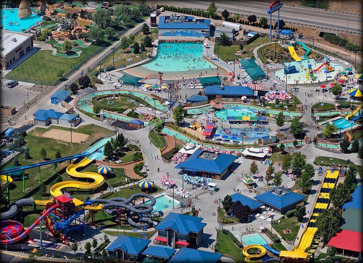 Roaring Springs Waterpark in Meridian Idaho. So fun there! √
