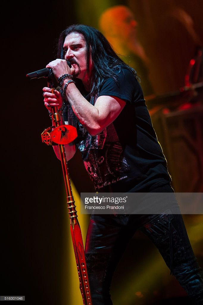 James Labrie of Dream Theater Perform on March 17, 2016 in Milan, Italy.