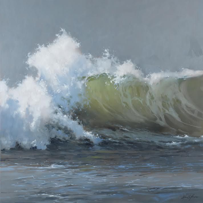 Artist:  Richard Johnson Title: Timeless Rhythm Medium: Original Oil Size: 48 x 48