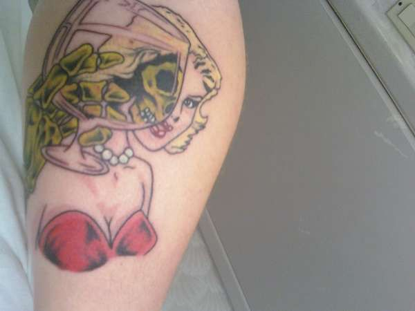 misfits tattoos - misfits tattoos Black and White