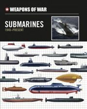 Submarines 1940–Present: Weapons of War, Amber Books, features 150 of the most significant submarines from World War II to the twenty-first century. Each featured submarine is illustrated with an outstanding colour profile artwork and is accompanied by detailed specifications, giving powerplant, dimensions, maximum speed, range and armament.