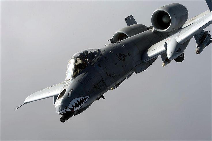 Un US Air Force A-10 Thunderbolt II del escuadrón expedicionario 74, aeródromo de Bagram, Afganistán sobrevuela una misión de combate 07 de enero de 2014, noreste, Afganistán. (Foto de la fuerza aérea por Tech el sargento Jason Robertson)