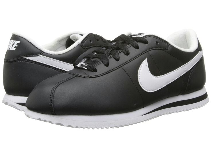 Nike Leather Cortez Black