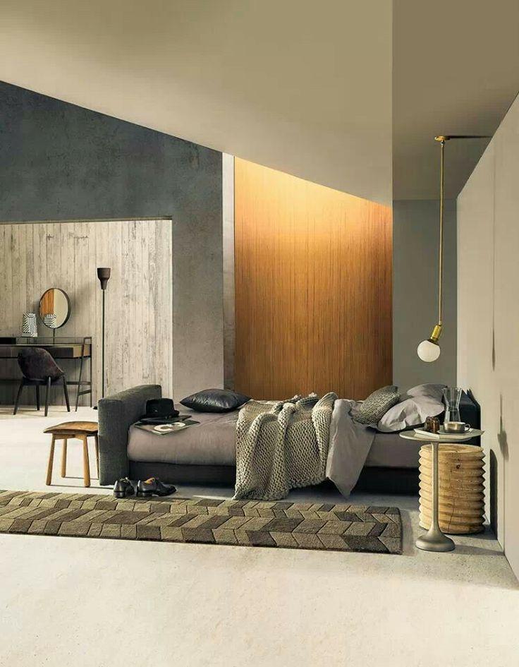 Formigó i fusta minimal