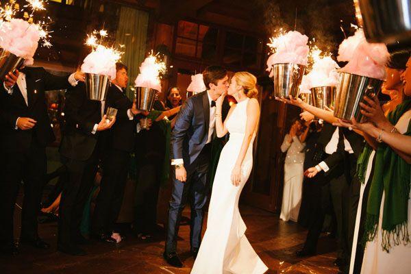 Romantic wedding idea