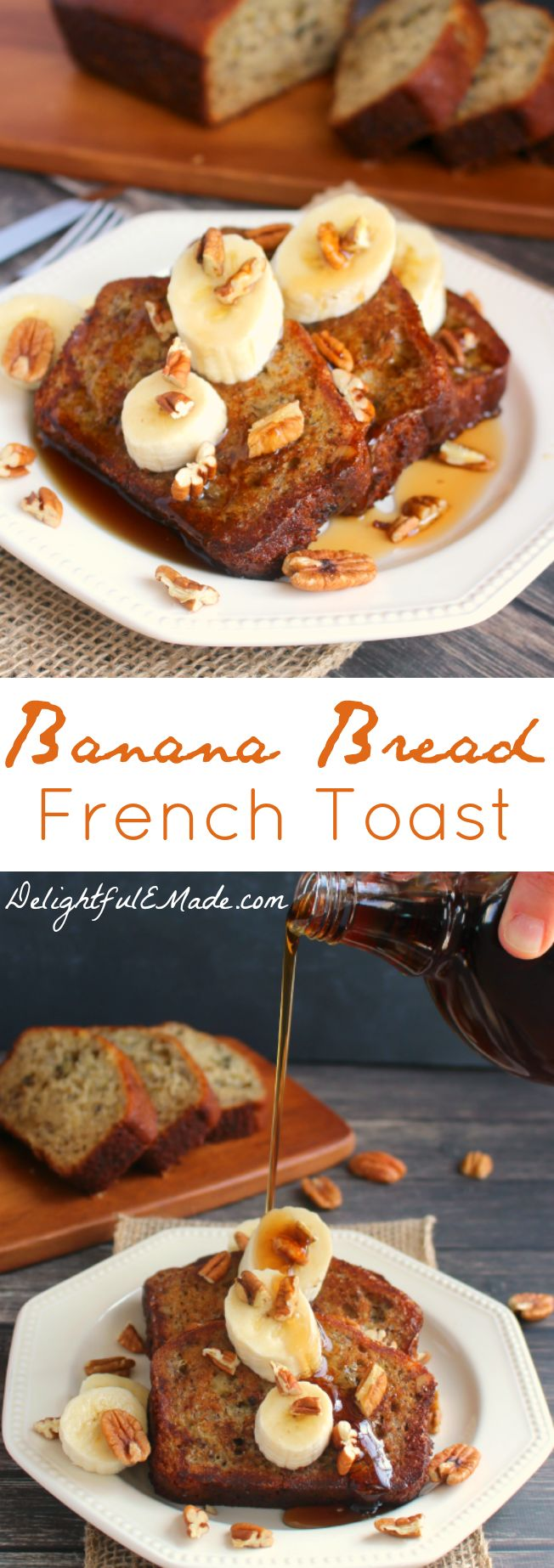 A Simple, Easy French Toast Recipe Made With Thick Slices Of Moist,  Delicious Banana