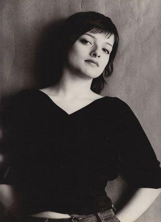 photo NB : Nina Hagen, 1975, musique punk allemande, portrait de femme, 1970s
