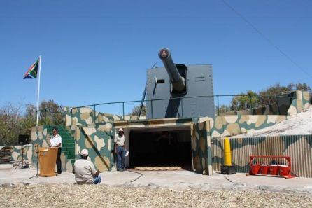De Waal Battery Gun No. 3, Robben Island