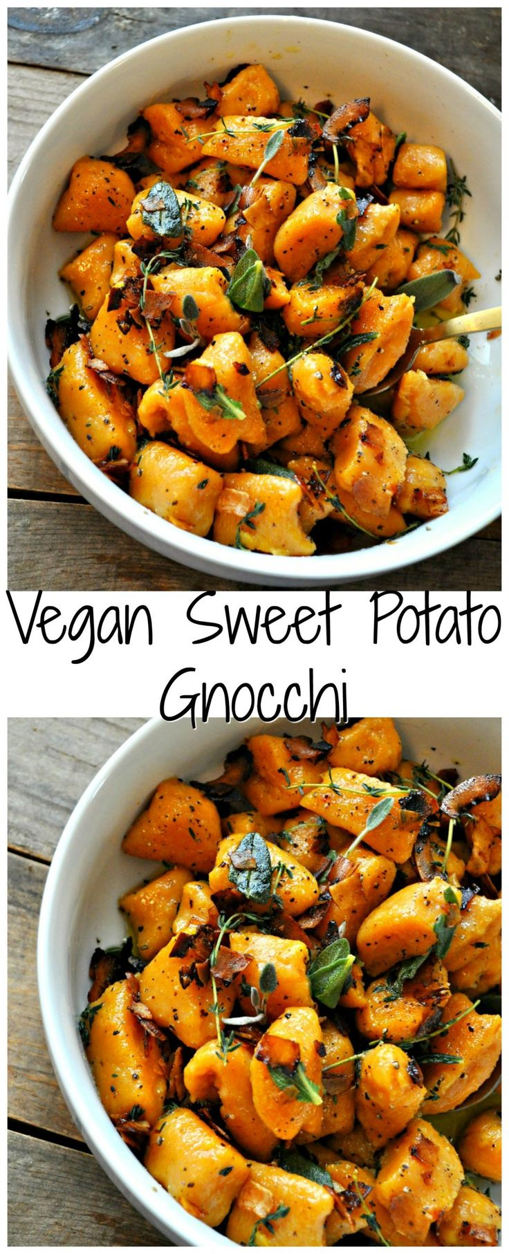 Vegane Süßkartoffel-Gnocchi
