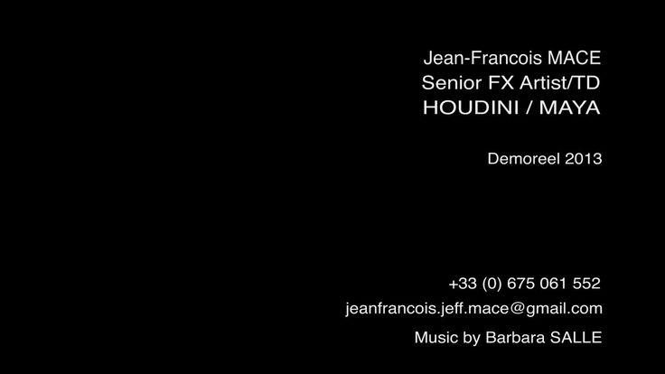 HOUDINI / MAYA FX Artist/TD - DemoReel 2013