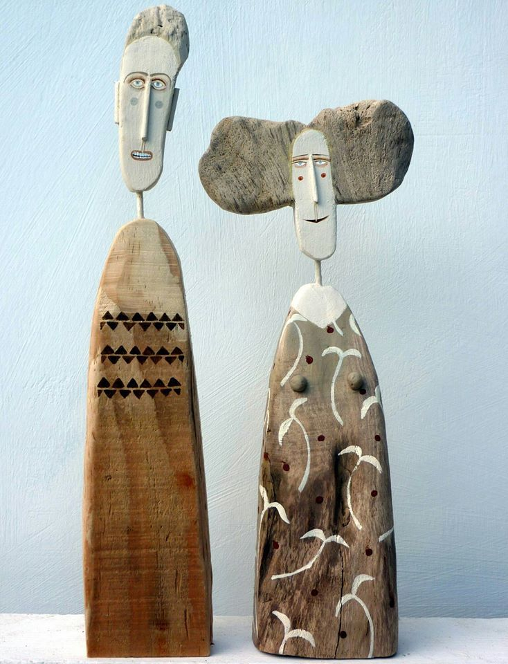 Поющие деревяшки, или Я его слепила из того, что было... - Ярмарка Мастеров - ручная работа, handmade