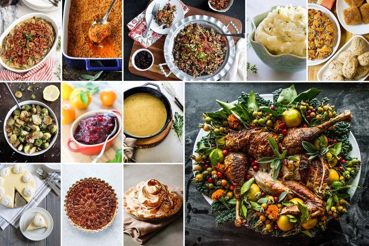 PW Food & Friends Thanksgiving Menu