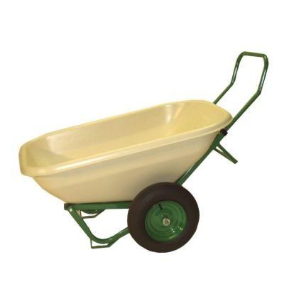 Dandux Loadumper 8 cu. ft. Plastic Wheelbarrow-42082 at The Home Depot