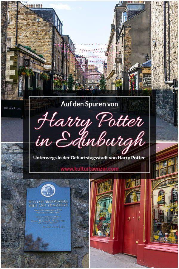 Auf den Spuren von Harry Potter in Edinburgh