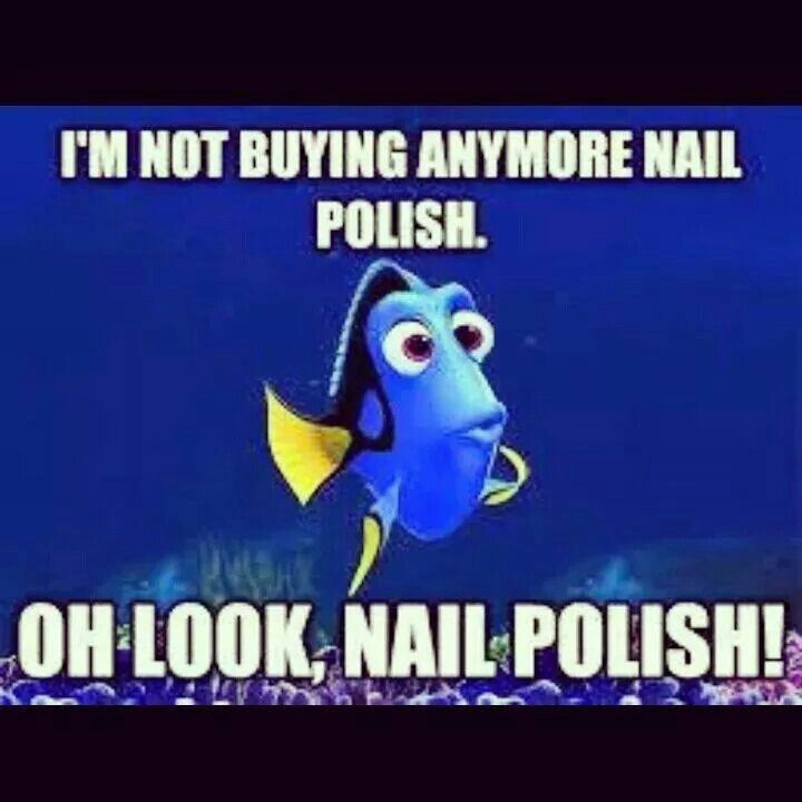 Thus is definetly me everytime I'm at the nail store