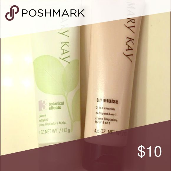 Mary Kay face wash Botanical cleanser and timewise 3 in 1 cleanser Mary Kay Other