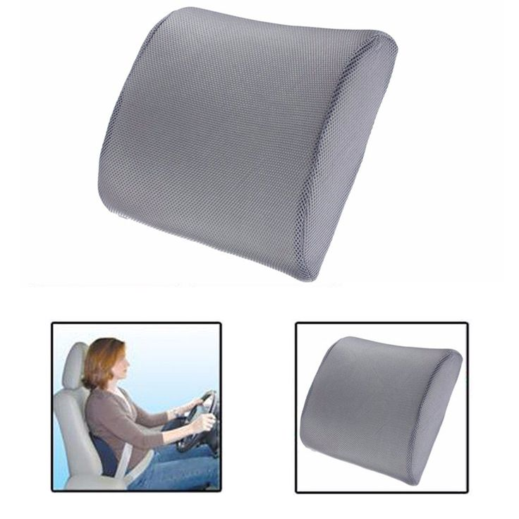 Memory Foam Lumbar Back Support Cushion Pillow Home Car Auto Office Seat Chair #Affiliate