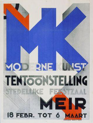 Gerard Baksteen. Moderne Kunst. c. 1930