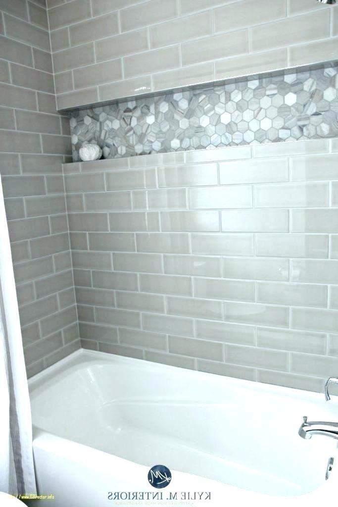 grey subway tile bathroom light gray