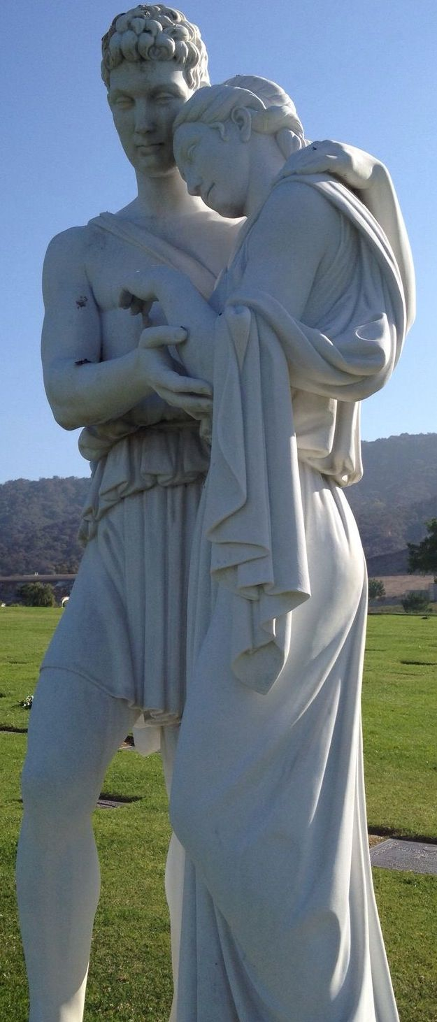 Forest Lawn Memorial Park, Glendale, California, USA