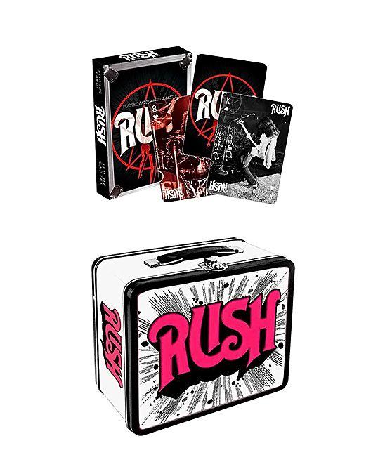 Rush Logo Fun Box & Vintage Playing Cards