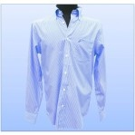 Camisa Nautica Slim Fit Azul rayada