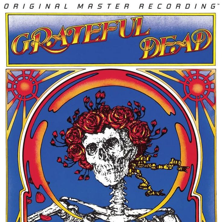 Grateful Dead Skull & Roses on Numbered Limited Edition