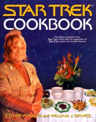Take a journey into the kitchen of the U.S.S. Voyager with Neelix, and see if you can help feed the humans, Klingons, Bajorans, and Vulcans. Learn the tricks of the trade that Neelix has perfected as a matter of self–preservation.