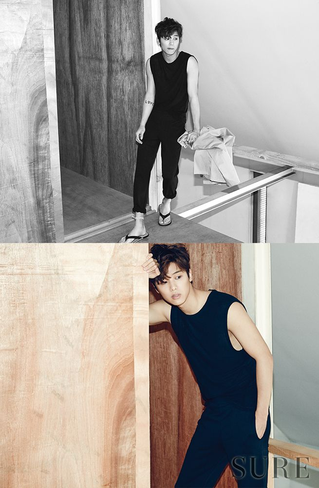 CNBLUE Min Hyuk - Sure Magazine June Issue '15