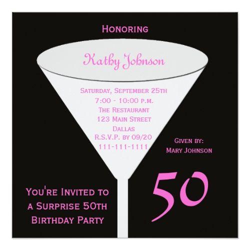 Damaris 50th Birthday Party: Best 20+ 50th Birthday Invitations Ideas On Pinterest