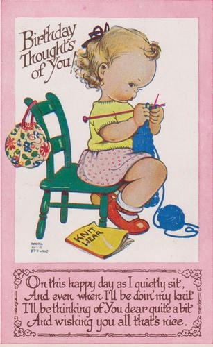 Mabel Lucie Attwell card   eBay : I remember these figures from when I was a little girl!