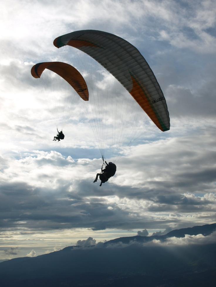 Paragliding, Venezuela Photo: Signe Jakobsen