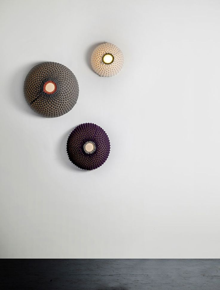 Knitted Wall Lamp