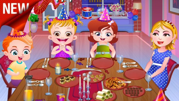 Baby Hazel New year Party Fun Baby Games for Kids Baby Hazel Game Movie ...