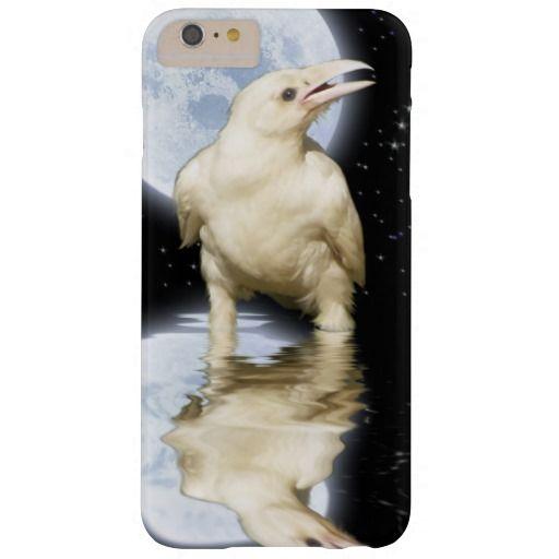 Rare Mystic White Spirit Raven Corvid-lover Barely There iPhone 6 Plus Case