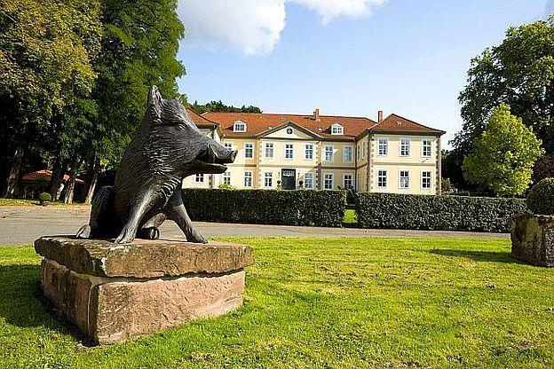 Gräflicher Landsitz Hardenberg, D-37176 Nörten-Hardenberg im Landkreis Nordheim, Niedersachsen. © Gräflicher Landsitz Hardenberg