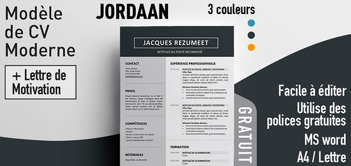 25  best ideas about cv moderne on pinterest