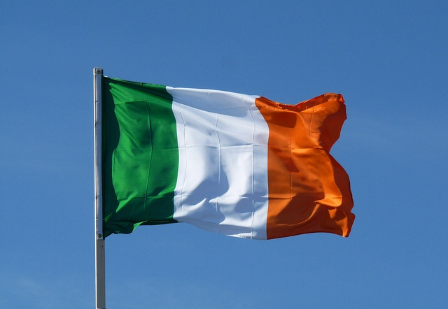 Ireland flag (Republic of Ireland) // Mission accomplished: May 2014