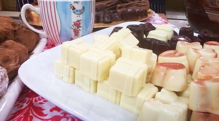 Bombones de licor, el secreto. Chocolate en rama